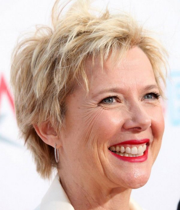 Very short shag haircuts for older women 1