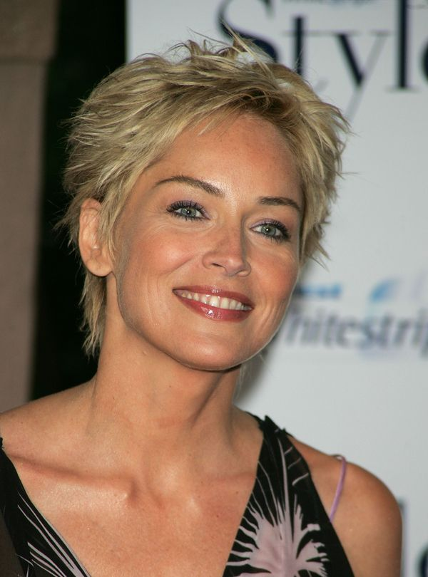 Very short shag haircuts for older women 5