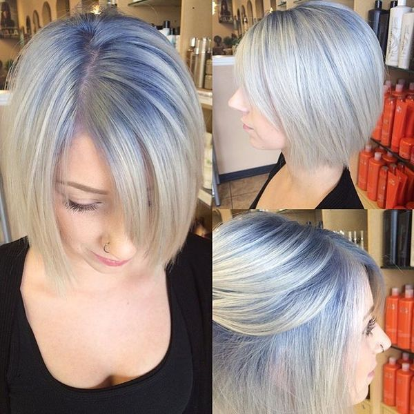 Winning Look with the Bob Style3536
