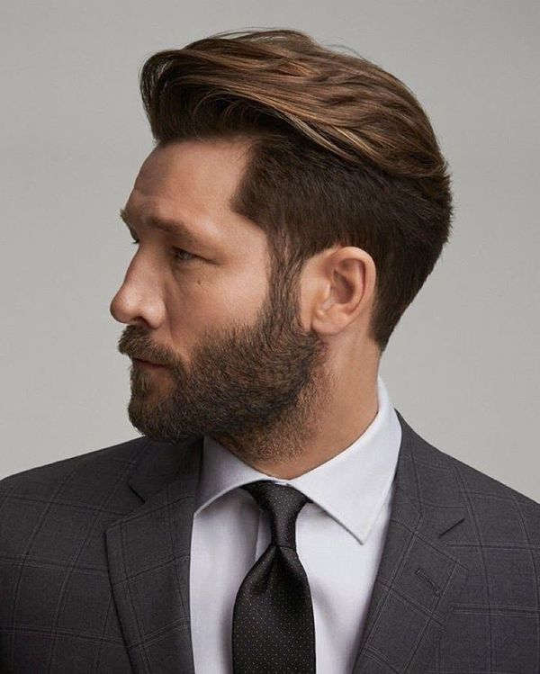 Classy Hairstyles for Men with Medium Hair 1