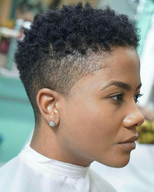 Short Curly Afro Hairstyles For Black Women