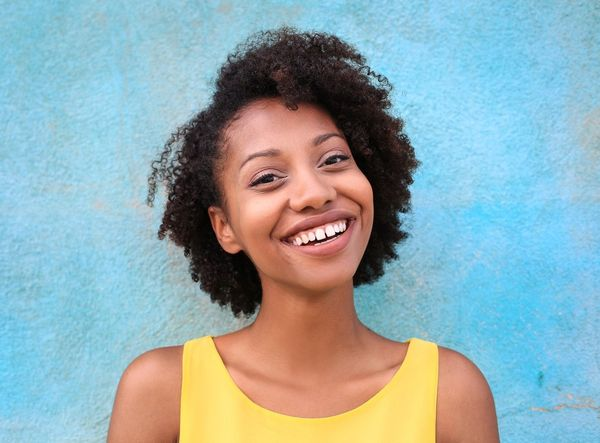 Cute Short Afro Hairstyles for Black Girl with Curly Hair 3