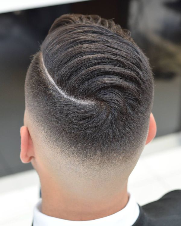 Cool Comb Over Fade Haircuts 3