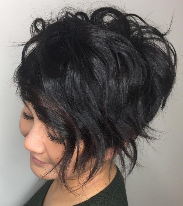 Cool Ideas of Very Short Stacked Hair 4