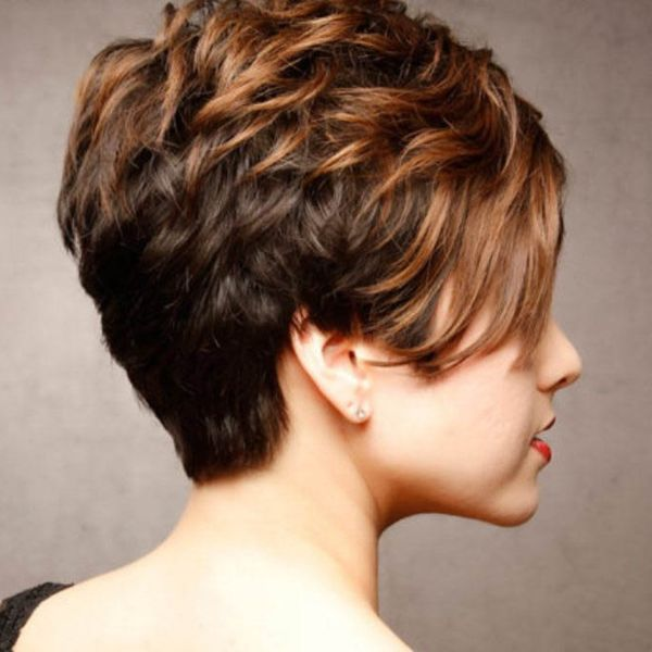Cute Short Stacked Haircuts 2