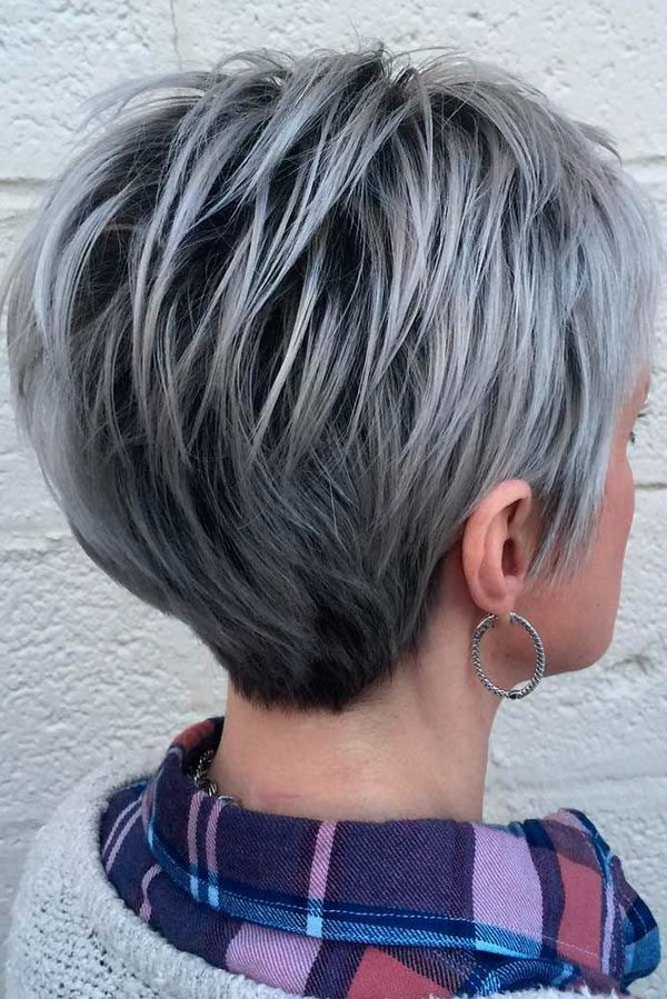 Hairstyles with Hair Stacked in the Back 2