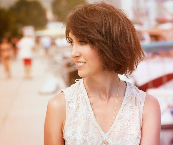 Ideas of Aline Bob with Bangs 3