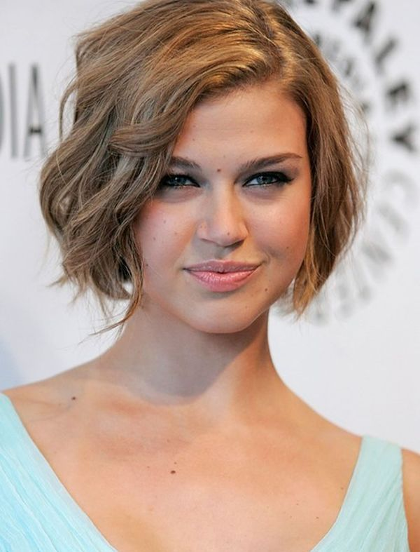 Ideas of Short Bob Cut for Curly or Wavy Hair 2