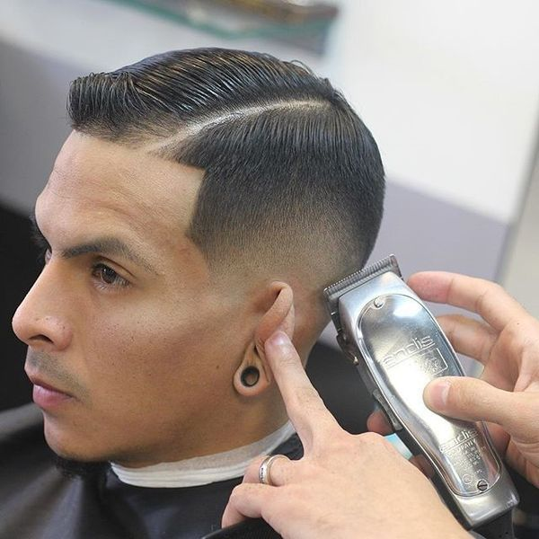 Stylish Short Comb Over to Try 4
