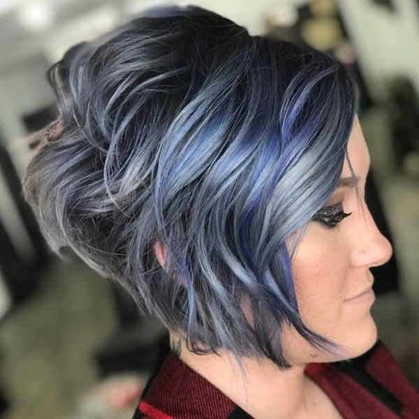 Stylish Stacked Layered Bobs 1