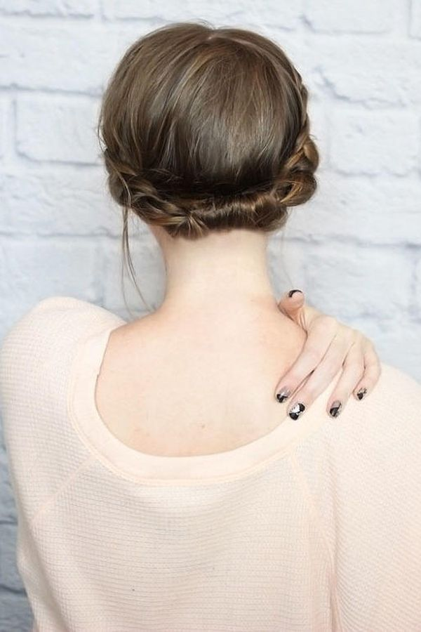 Formal Updo Hairstyles for Short Hair 2
