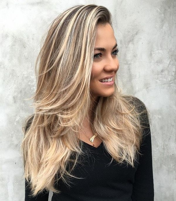 Cool Haircuts for Long Straight Blonde Hair 4