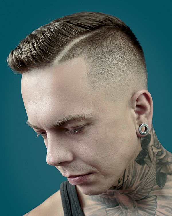Cool mens side parted hair ideas 5