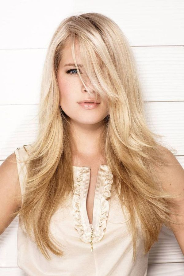 40 Trendy Hairstyles For Long Blonde Hair 2019