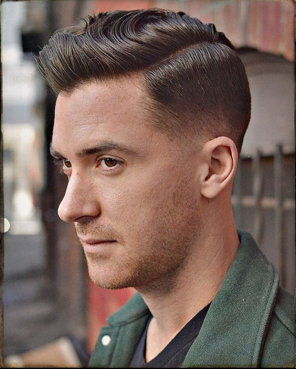 Modern side part hairstyles for men 4