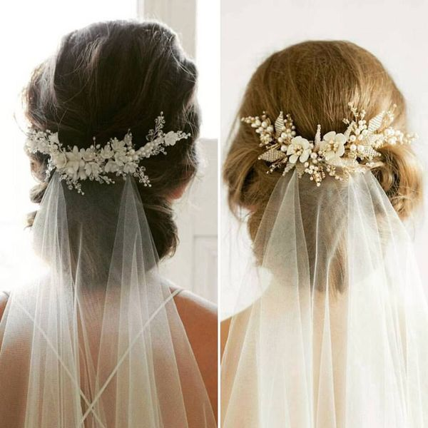 Beautiful Long Wedding Hairstyles With Veil 3