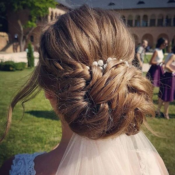 Beautiful Long Wedding Hairstyles With Veil11
