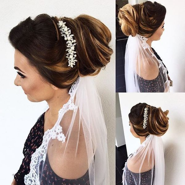 14 Romantic Wedding Updos You Ll Fall In: Wedding Hairstyles For Long Hair, Bridal Updos For Long