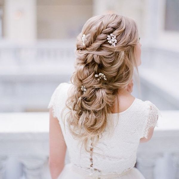 Long Hair Style For Wedding Guest: Wedding Hairstyles For Long Hair, Bridal Updos For Long