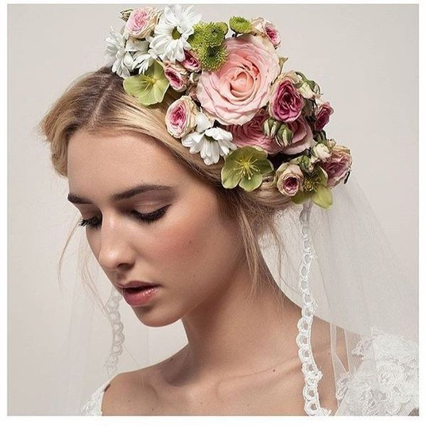Simple Long Hair Wedding Style For Mother Of Groom In Her 60 S: Wedding Hairstyles For Long Hair, Bridal Updos For Long