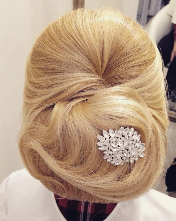 Simple Bridal Hairstyles For Long Straight Hair1