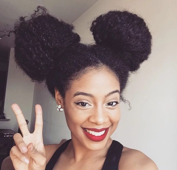 The Best Natural Hairstyles for Long Hairм 1