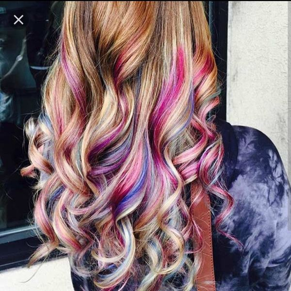 Peek A Boo Highlights Ideas For Any Hair Color 2018