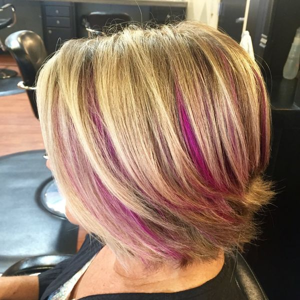 Gorgeous Pink Peek a Boo Hair To Try 3