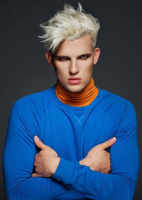 Guys with bleach blonde hair color 2