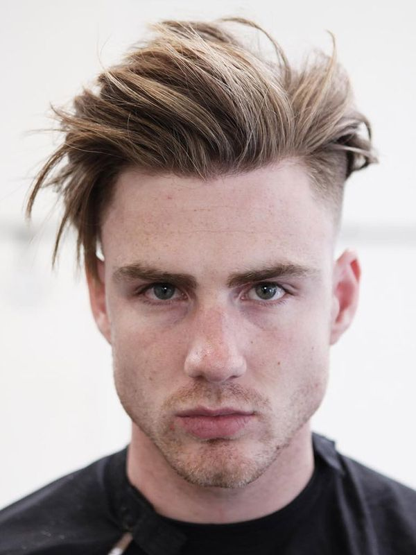 Ideas of Hairstyles for Dirty Blonde Hair Men 1
