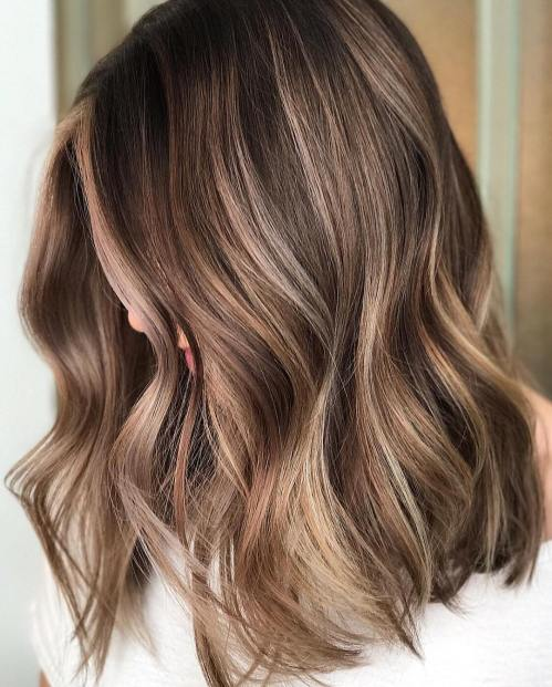 Subtle Blonde Highlights For Brown Hair 3