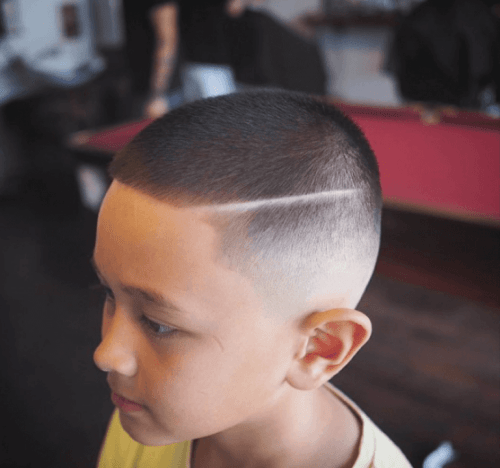 Cool Army Haircut Styles For Little Boys 2