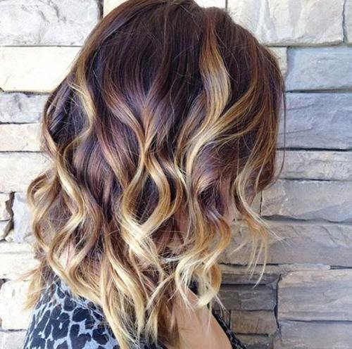 Cool Medium Brown Hair With Blonde Tips 3