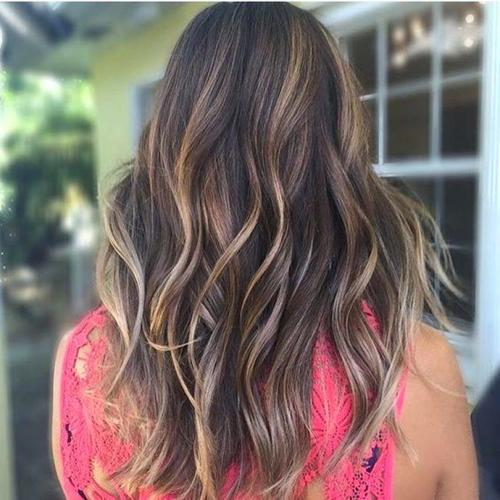Cute Partial Brown And Blonde Highlights 3