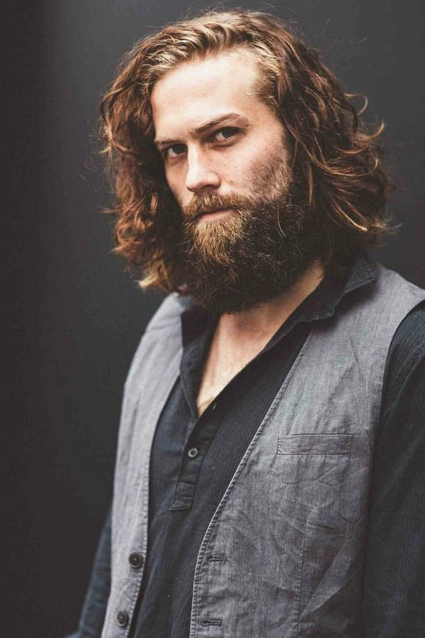 Awesome Long Messy Hair Ideas For Guys 7