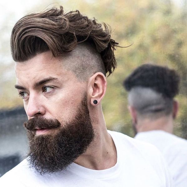 Awesome Long Messy Hair Ideas For Guys 8