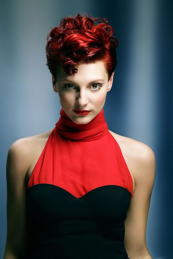 Awesome Short Curly Red Hair Styles 1