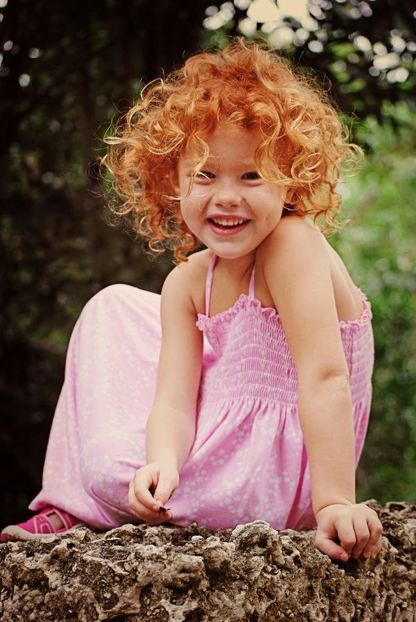 Awesome Short Curly Red Hair Styles 4