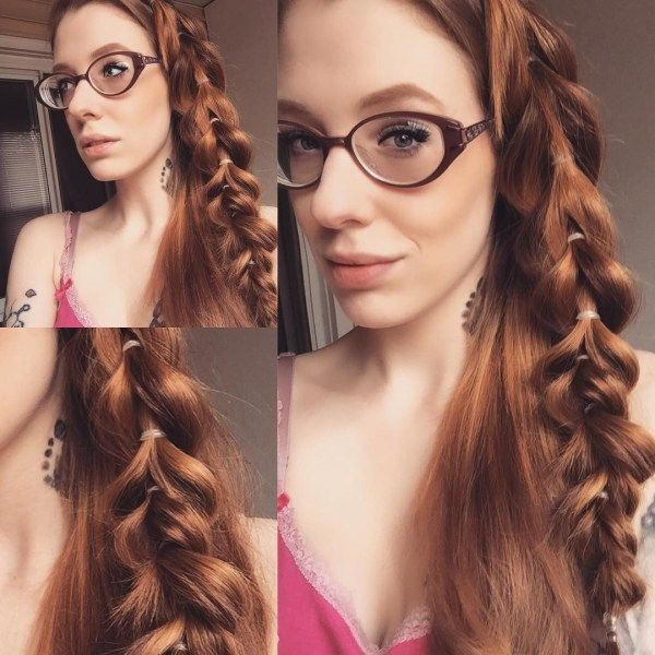 Beautiful long hair styles with braiding 2