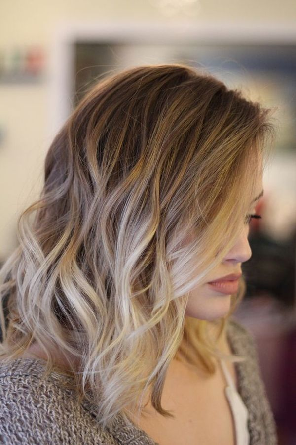 Beautiful wavy long bob hairstyles 3