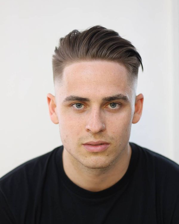Blowout Haircut for Men with Straight Hair 3