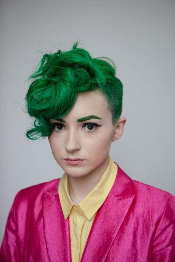 Bright Hair Colors to Try on Short Hair 2