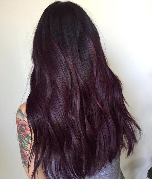 Burgundy Purple Hair 2