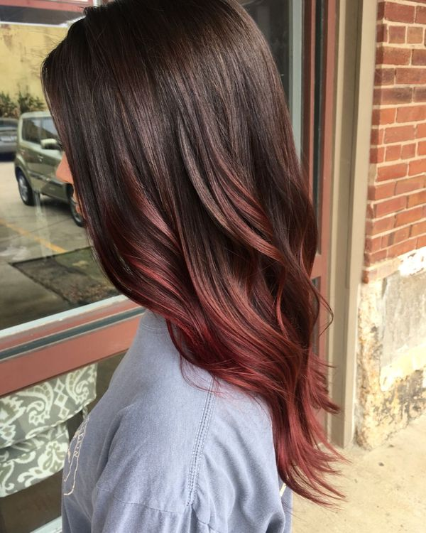 Cool Balayage Hair Color Ideas for Brunettes 1