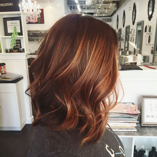 Cool Balayage Hair Color Ideas for Brunettes 2