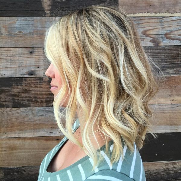 Cool Long Layered Bob Hairstyles For Wavy Hair 2
