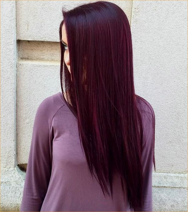 Cool Maroon Hair Color to Try 3