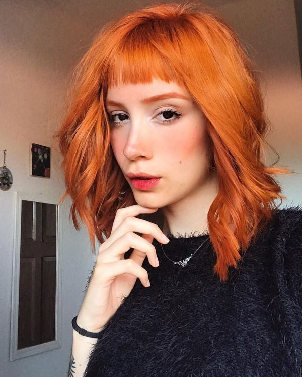 36 Cool Short Red Hairstyles and Haircuts (October 2019)