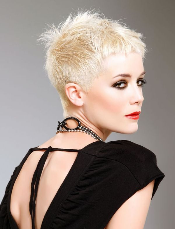 Cool Styles with Short Spiky Hair for Ladies 4