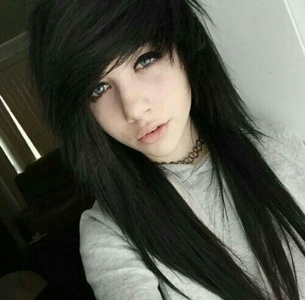 emo style hair best hairstyles for trending in april 2019 2183 | Cool black hair emo style for girls 4